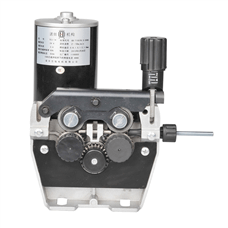 double drive wire feeder
